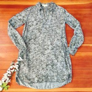Cloth & Stone Anthropologie Tencel Shirt Dress